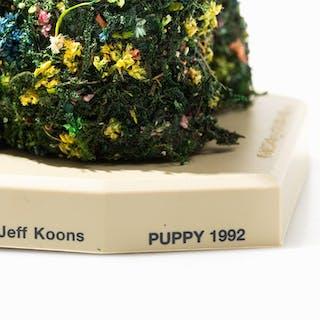 KOONS Jeff - PUPPY (détail)