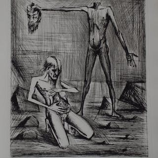 BUFFET Bernard - L'enfer de Dante - Cette tête...