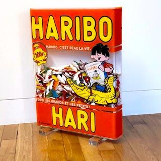 CUADRADO Annick - HARIBO HARI 53X41X6,5CM