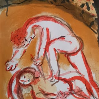 CHAGALL Marc - Cain and Abel