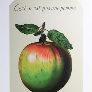 MAGRITTE René - Ceci n'est pas une pomme