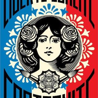 FAIREY Shepard - Liberté, Egalité, Fraternité