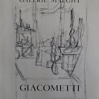 GIACOMETTI Alberto - Galerie Maeght