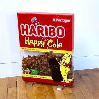CUADRADO Annick - HARIBO HAPPY-COLA 53X41X6,5CM
