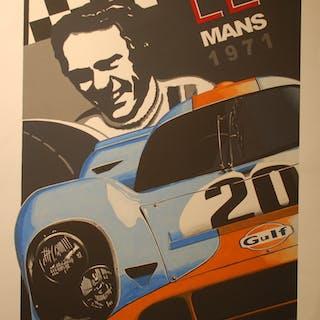 BURLET Philippe - Le Mans 1971