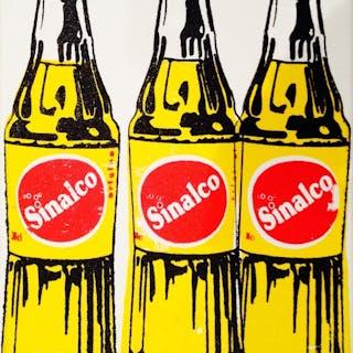 NOVERRAZ Nicolas - 3 bouteilles de Sinalco 24X18CM