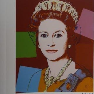 WARHOL Andy - Queen Elizabeth II