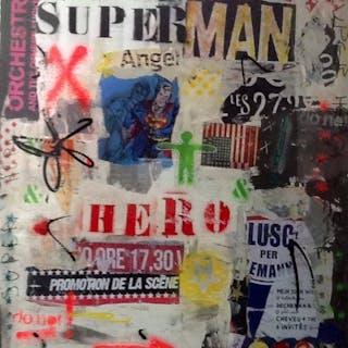 KIKAYOU - SUPERMAN 100X80CM