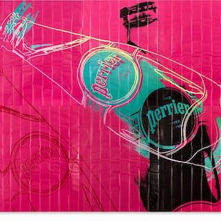 WARHOL Andy - Perrier Rose