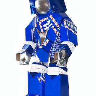 STADELMANN Hervé - Mini Robotyp HN 2018 H:42CM
