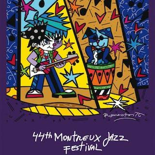 MONTREUX JAZZ FESTIVAL - Romero Britto 2010