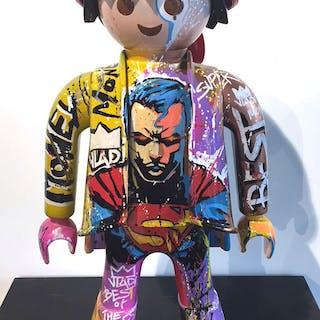 Art VLADI - Playmobil SUPERMAN 64CM