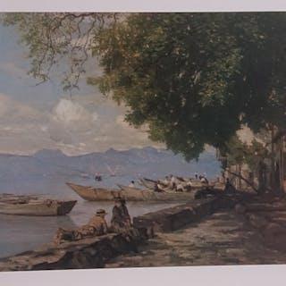 BOCION François - La Grande Rive près d'Evian