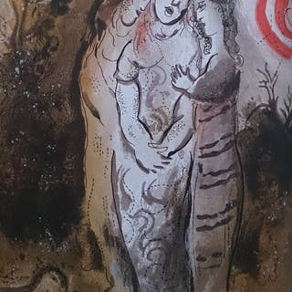 CHAGALL Marc - Naomi and her daughters in law