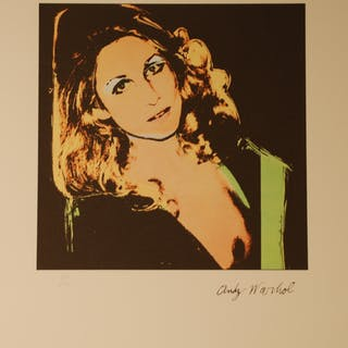 WARHOL Andy - Jane Holzer