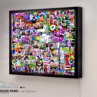 CATELAIN Christophe - INSIDE PARIS 102X102CM