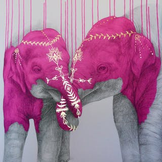 MCNAUGHT Louise - Soul Mates - Pink