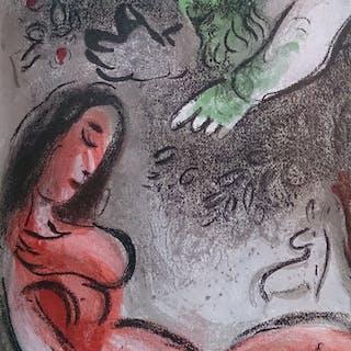 CHAGALL Marc - God rebukes Eve