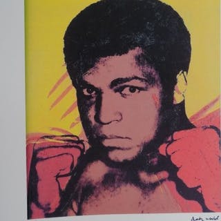 WARHOL Andy - Mohamed Ali