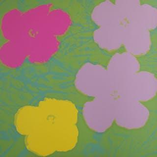 WARHOL Andy - Flowers
