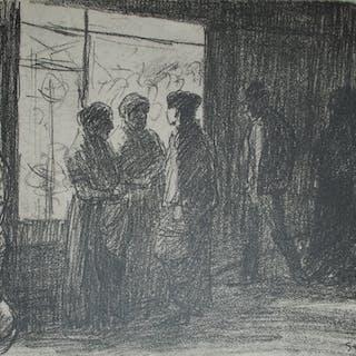 STEINLEN Théophile-Alexandre - Steinlen et la rue
