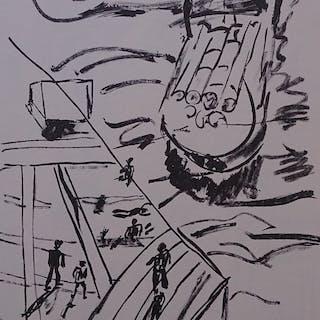 LEGER Fernand - Les péniches