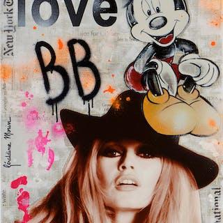 MORIN Géraldine - LOVE BB 73X50CM