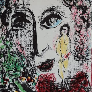 CHAGALL Marc - Apparition at the circus