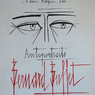 BUFFET Bernard - Autoportraits