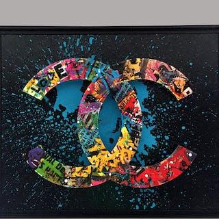 AIIROH - CHANEL STREET'BOX BLEU 65X81CM