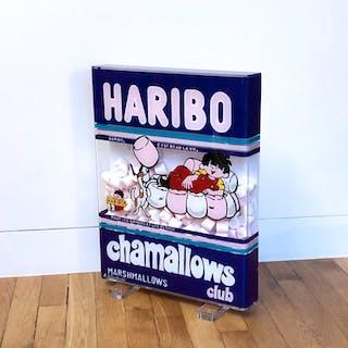 CUADRADO Annick - HARIBO CHAMALLOWS 53X41X6,5CM