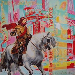 BERG Alan - MY HORSE FOR CAB 95X95CM