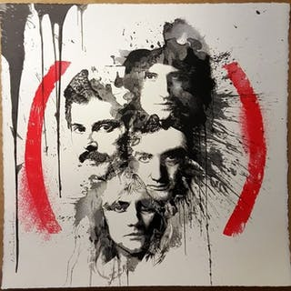 MR. BRAINWASH - Queen Product (RED)