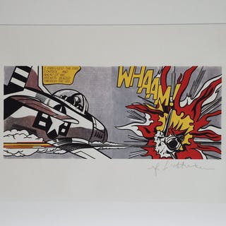LICHTENSTEIN Roy - Whaam