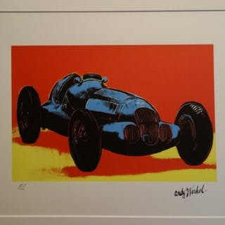 WARHOL Andy - Mercedes W 125