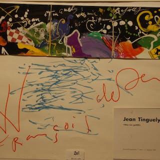 TINGUELY Jean - WAS MIR GEFÄLLT 34X43.5CM