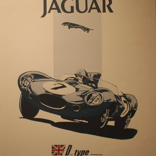 BURLET Philippe - Jaguar D_type