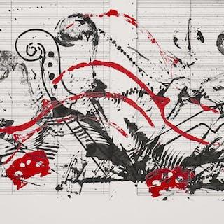 ARMAN Pierre Fernandez - Composition pour Montreux