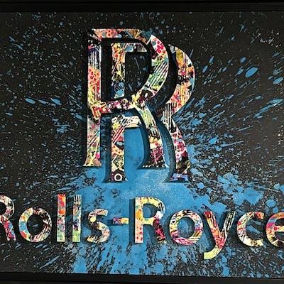 AIIROH - ROLLS-ROYCE 80X100CM