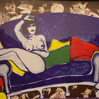 CORNEILLE Guillaume - Nus au canapé