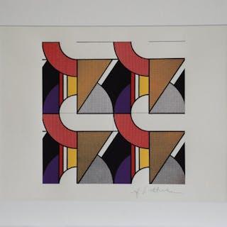 LICHTENSTEIN Roy - Géométrie