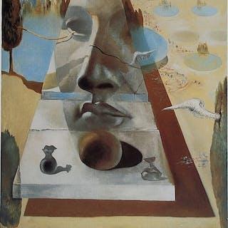 DALI Salvador - Apparition du visage de l'Aphrodite