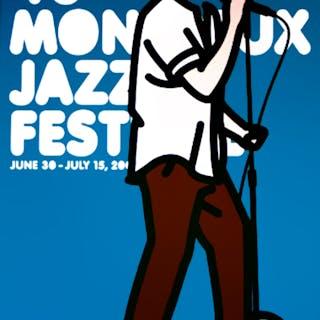 MONTREUX JAZZ FESTIVAL - Julian Opie 2006