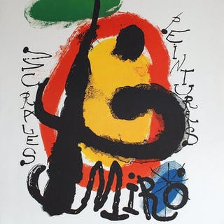MIRO Joan - Peintures murales