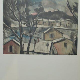 DE VLAMINCK Maurice - La Maladrerie sous la neige