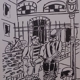 LEGER Fernand - Les cyclistes