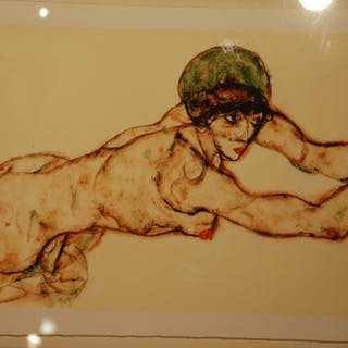 SCHIELE Egon - Sans titre