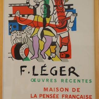 LEGER Fernand - Maison de la pensée française