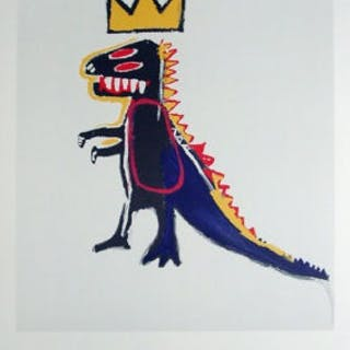 BASQUIAT Jean-Michel - Pez Dispenser