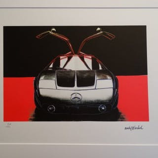 WARHOL Andy - Mercedes C 111